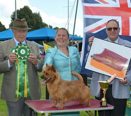 Supreme Champion Wanora La Walkin On Sunshine