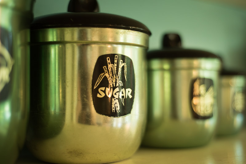 Retro canisters. gallery image