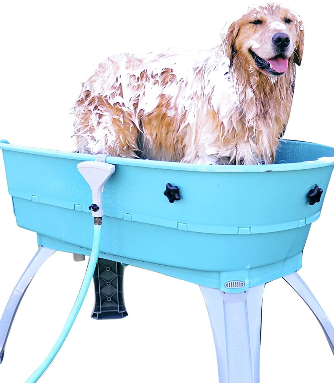 Booster Bath to wash off the sand from doggies day gallery image