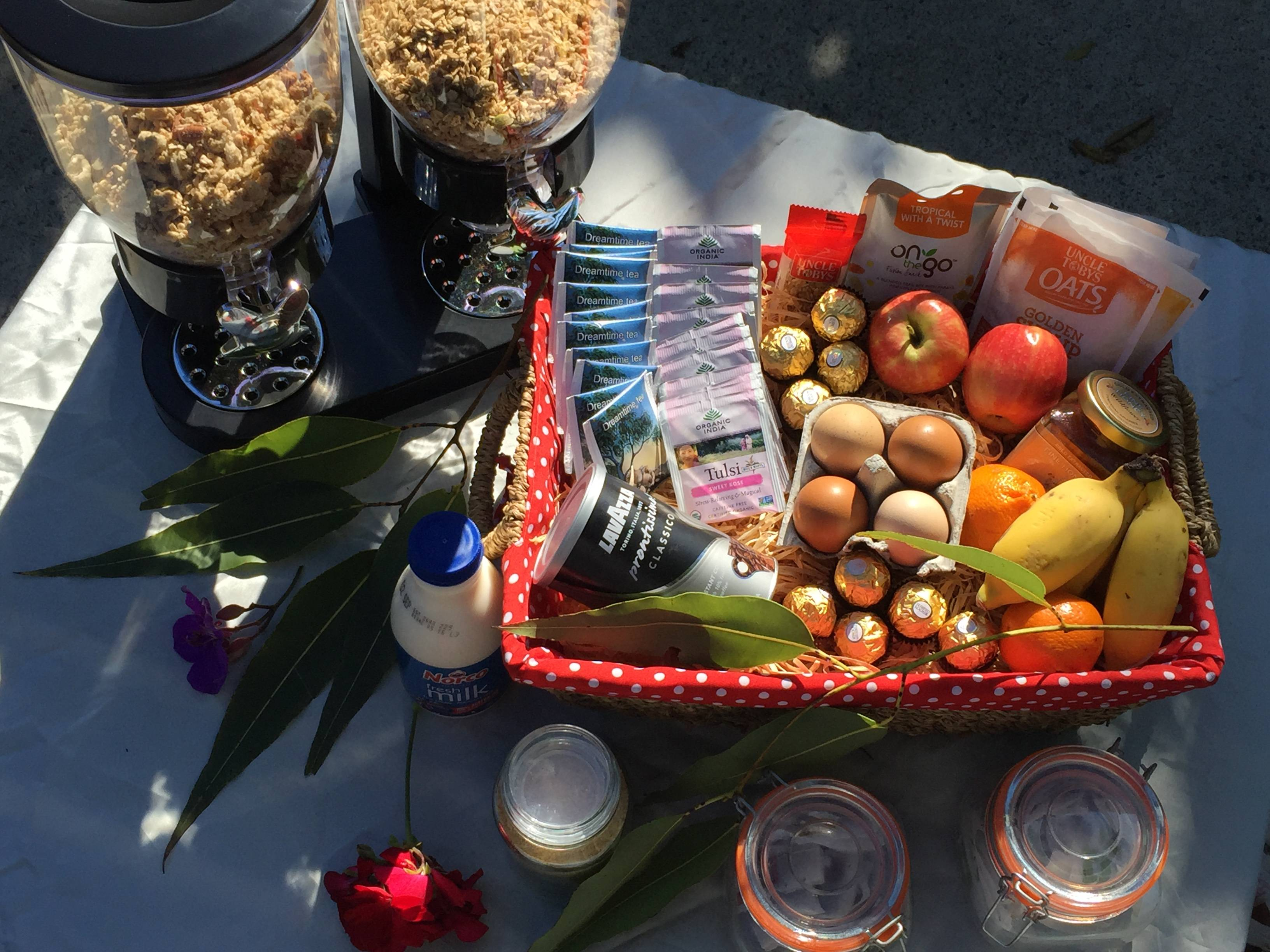 Welcome Hamper provisions provided. gallery image