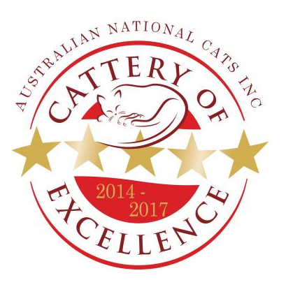 Awarded Cattery of Excellence 2014 gallery image