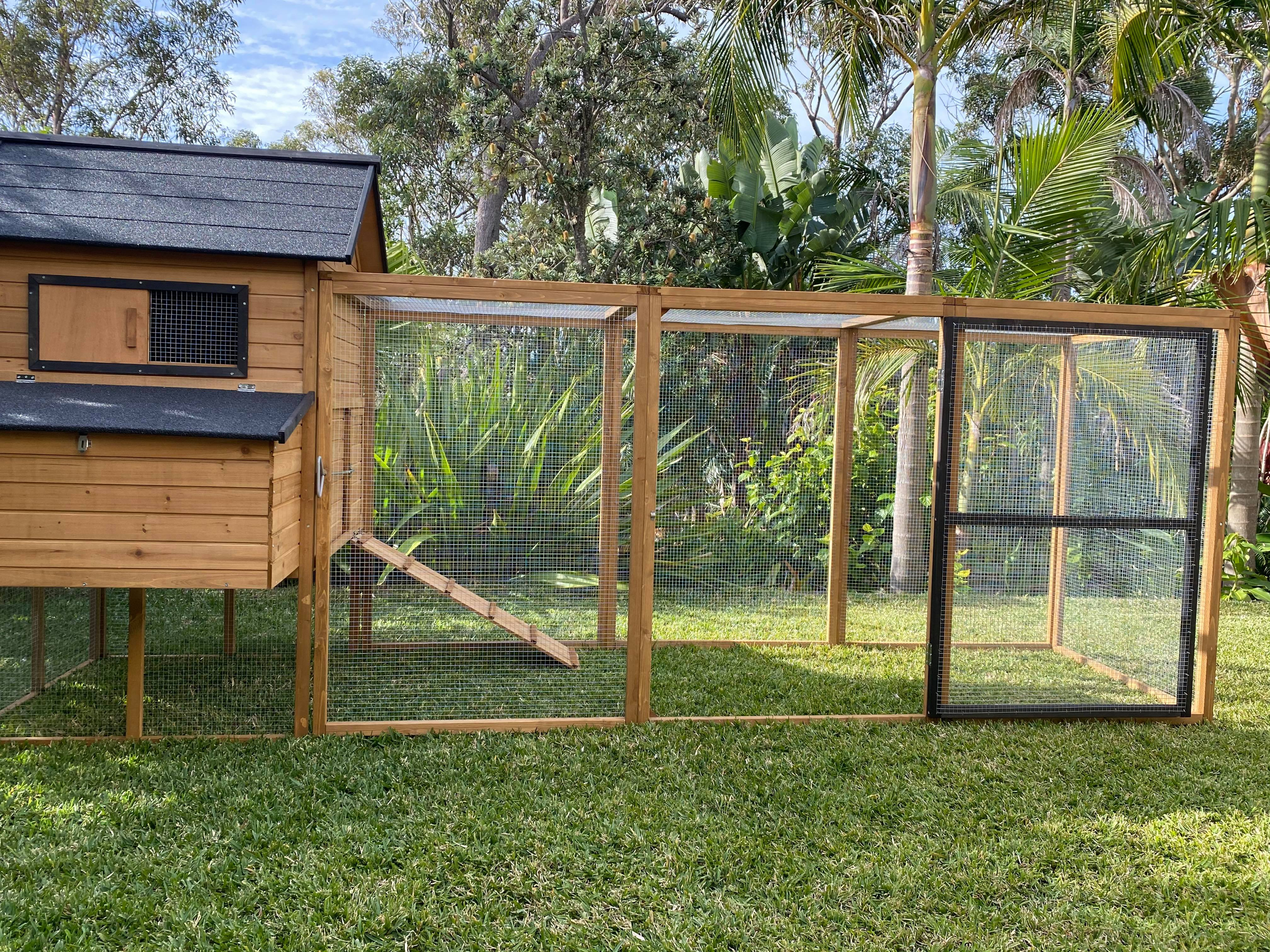 Large Chicken Coop and Run gallery image