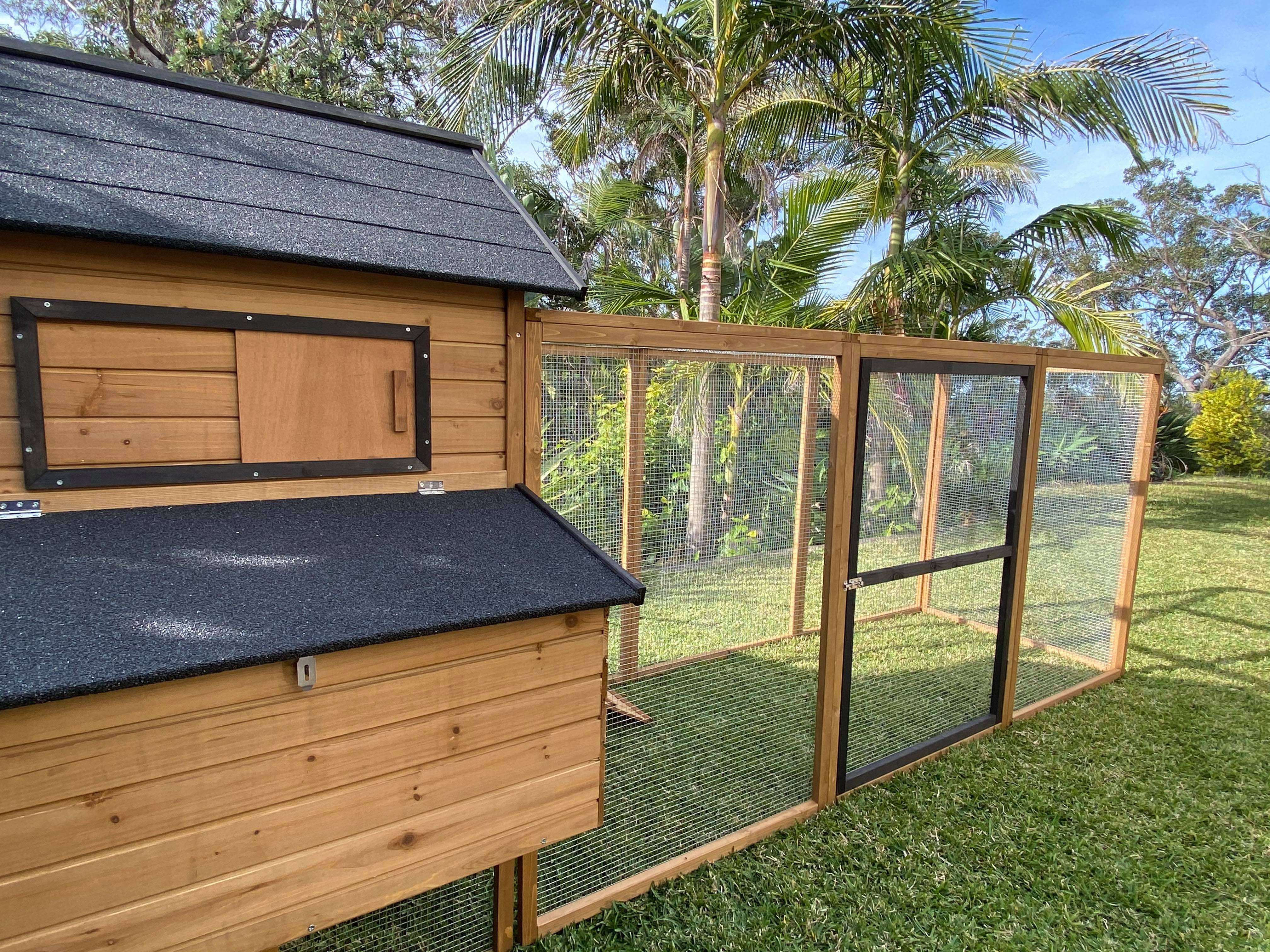Cabana Chicken Coop with Run gallery image