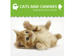 Cats and Canines - keeping Pet Food Natural