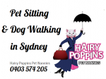 Hairy Poppins - Pet Sitting, Dog Walking - Sydney