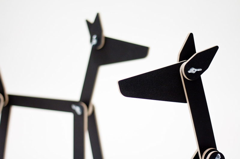 Neroko BLANKO Designer Dog Figurine gallery image