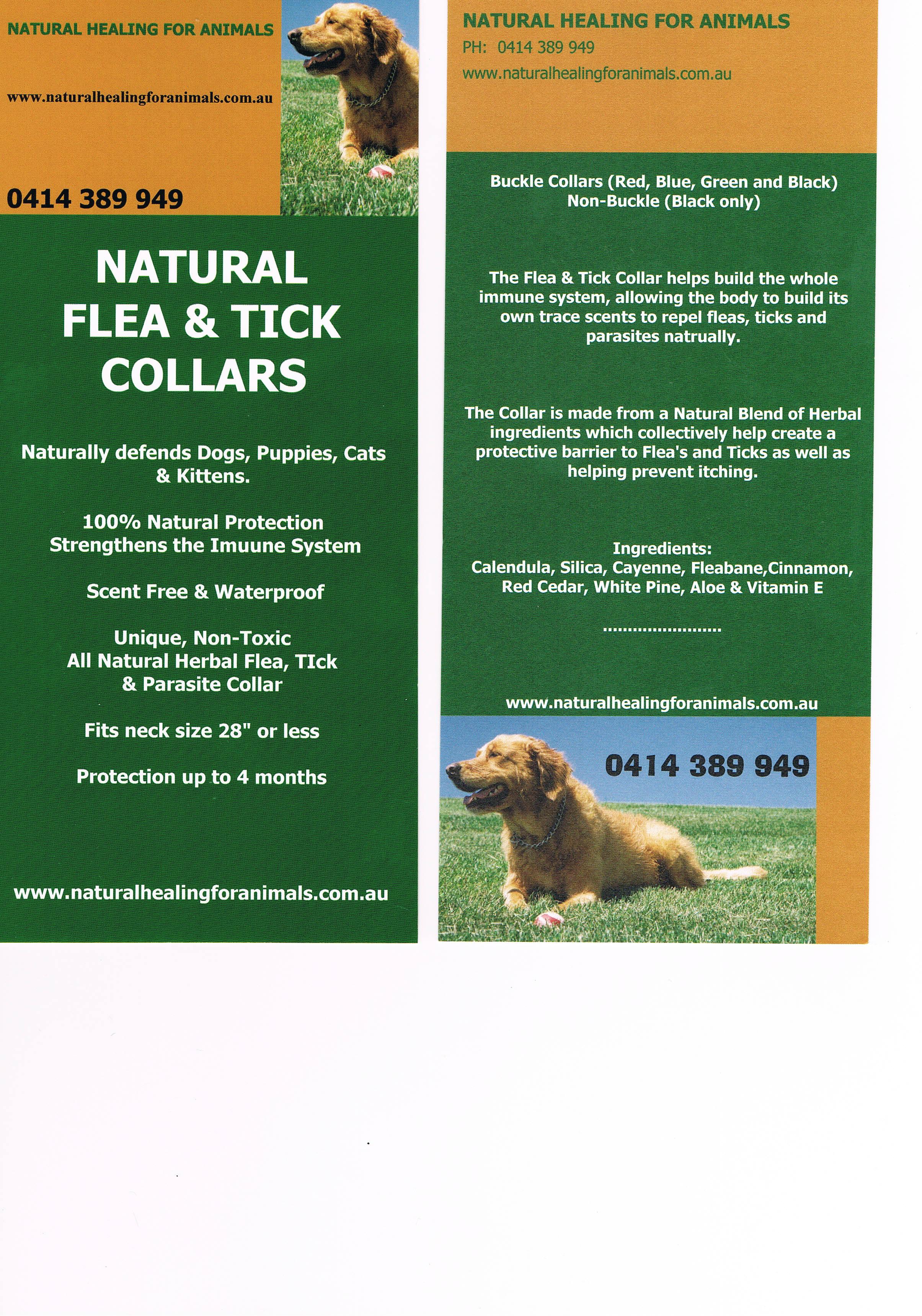 Natural Flea/tick collar gallery image