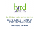 Bird & Exotics Veterinarian - Vet, Pet Boarding - Waterloo