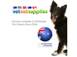 Vet Net Supplies - Online Pet Store
