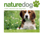 NatureDog - Natural, Healthy Dog Food to Your Door - Melbourne