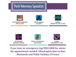 Perth Veterinary Specialists