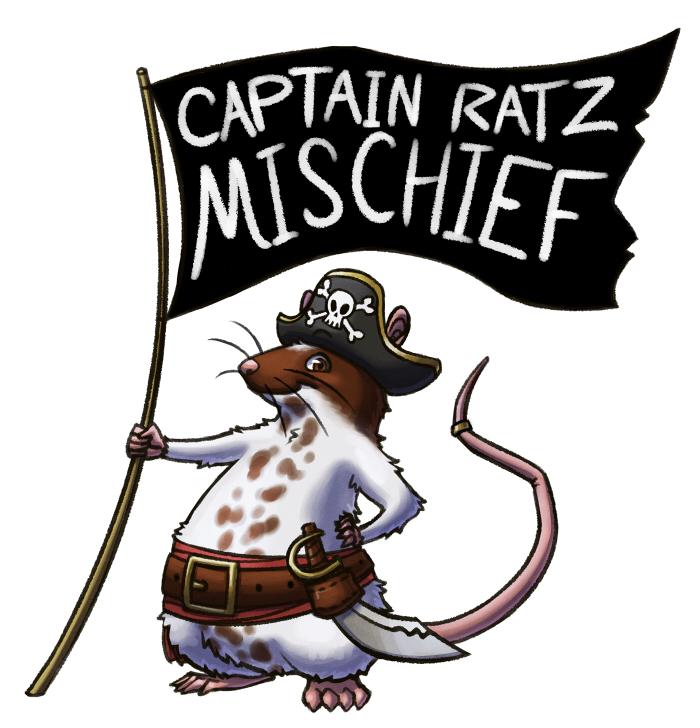 Captain Ratz Logo