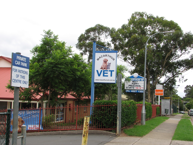 Macarthur Vet Group - Bradbury - Street front gallery image