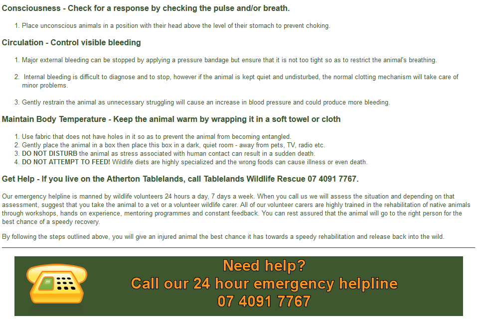 Emergency Hotline :07 4091 7767 gallery image