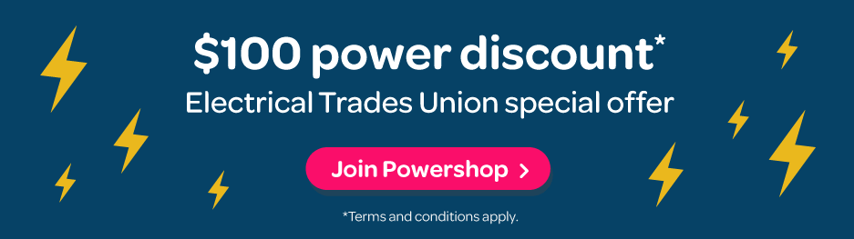 Electrical trades union special offer