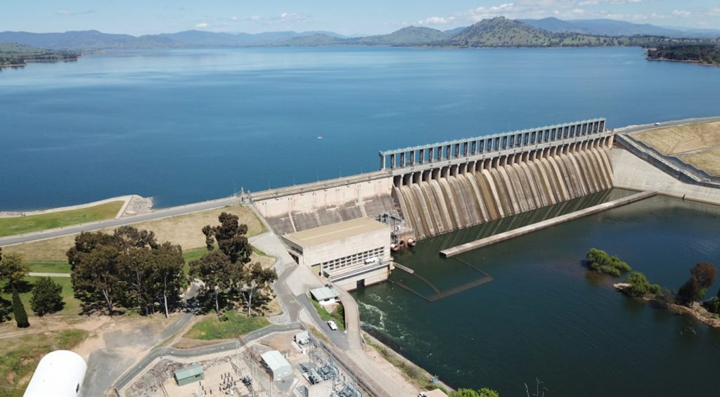 Hume hydro power station, New South Wales