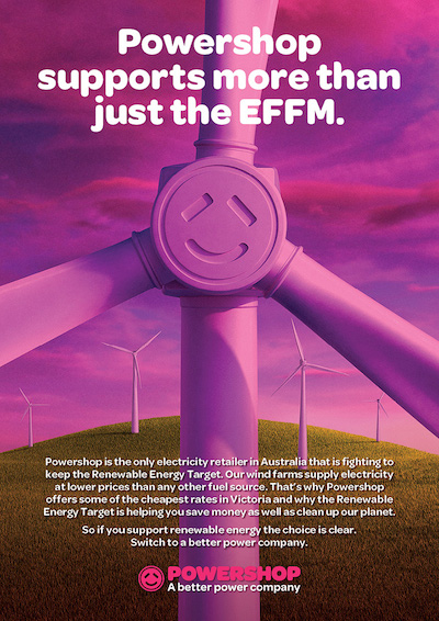 Powershop and GetUp! partner with Environmental Film Festival Melbourne