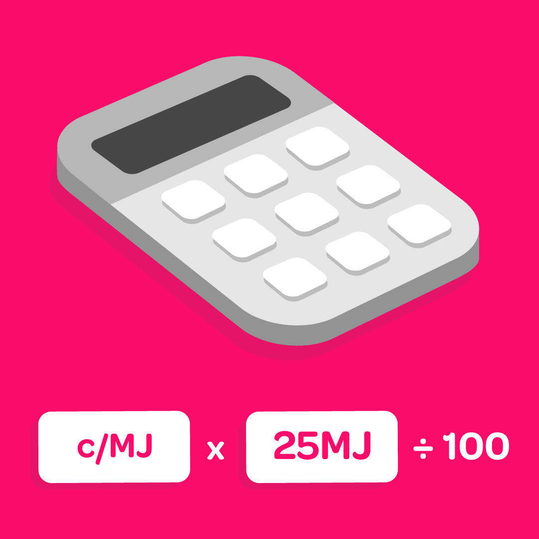 Illustration of calculator and equation