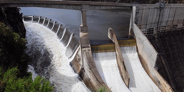 Photo of Burrinjuck hydro dam