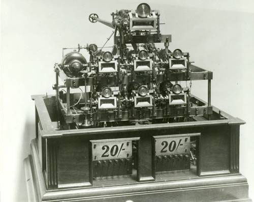 George Julius' first totalisator