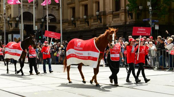 Melbourne Cup 2016 Parade