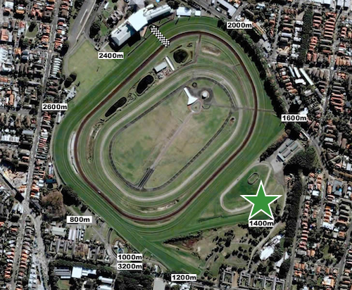 All Aged Stakes - Randwick 1400m start