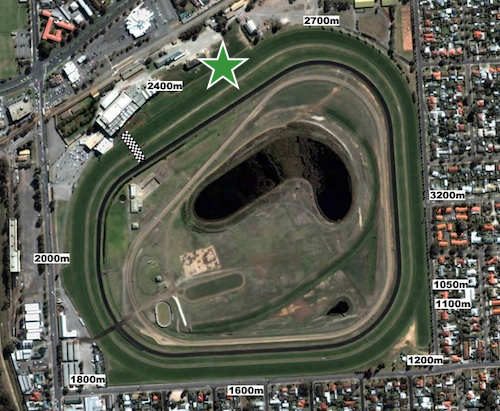 South Australian Derby - Morphettville 2500m start