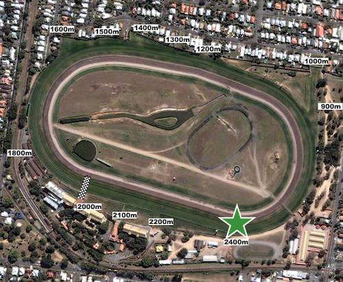 Queensland Oaks - Eagle Farm 2400m start