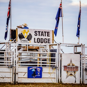 CFMEU Blackwater May Day Rodeo 2018