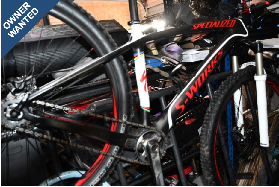 Owner Wanted Specialized S-Works MTB reported on PropertyVAULT