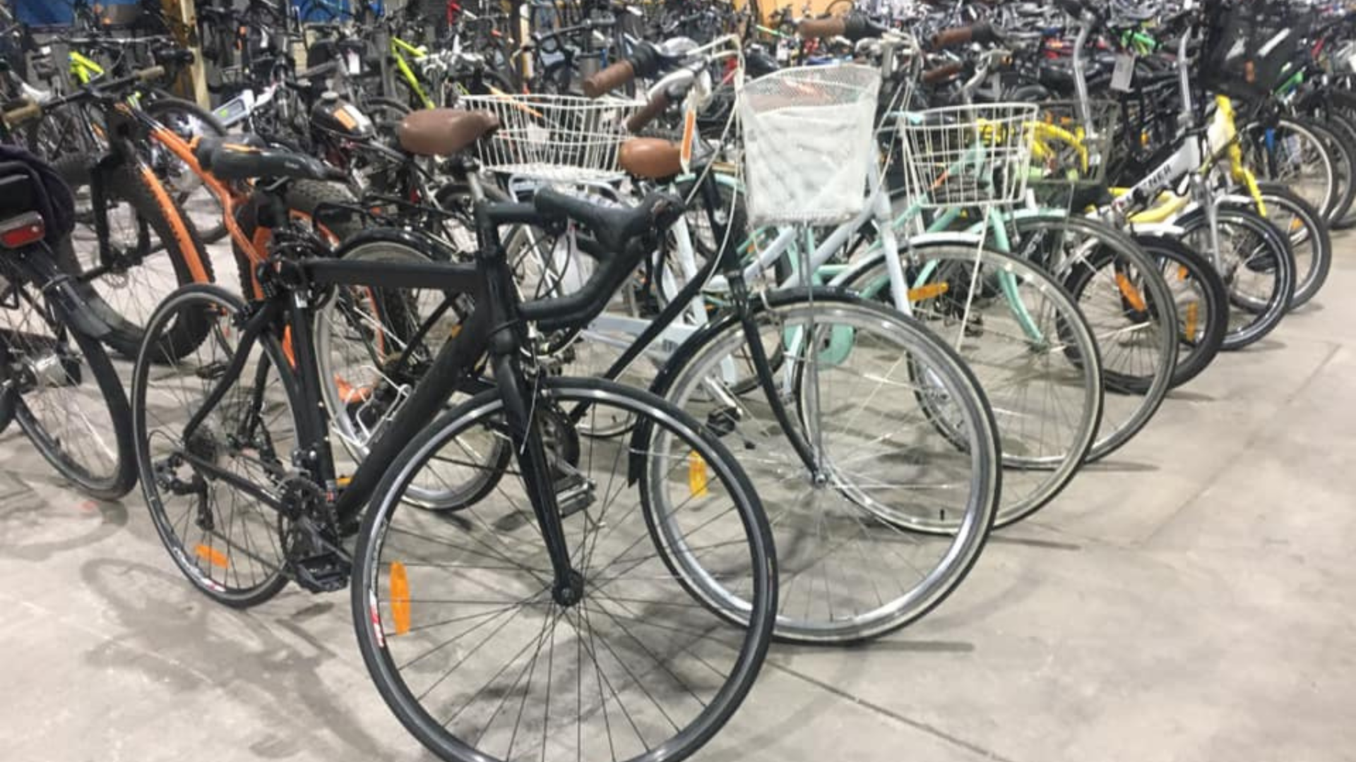 Hundreds of unclaimed stolen bikes being sold at Police Auction in Victoria