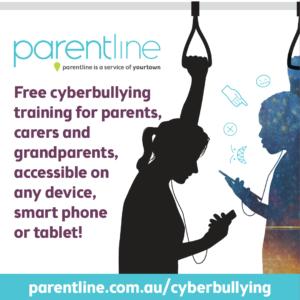 Parentline cyberbullying training