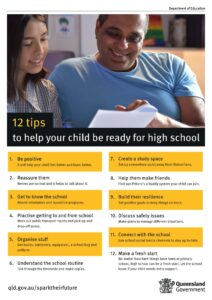 Tips to help your child be ready for high school