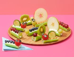 Party Plates Caterpillars