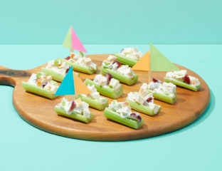 Party Plates Celery Boats