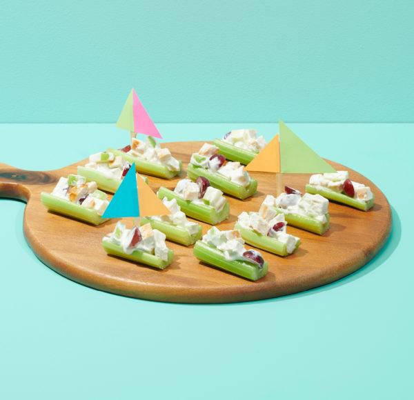 Party Plates Celery Boats