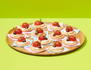 Party Plates Ladybugs
