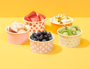 Party Plates Fruit Cups
