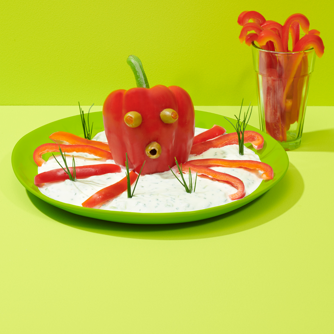 Party Plates Octopus