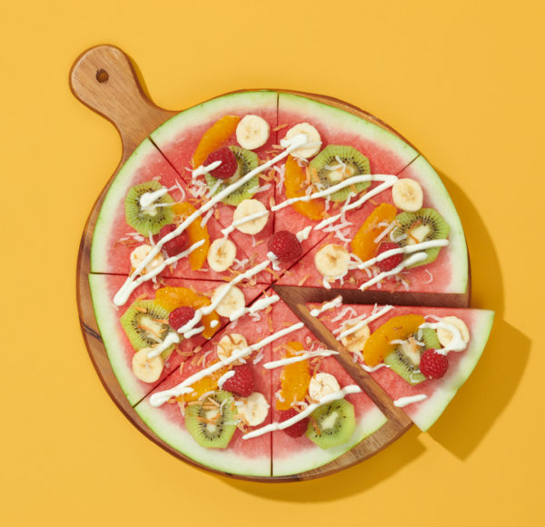 Party Plates Watermelon Pizza