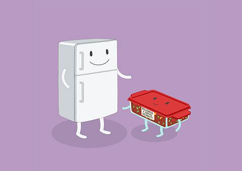 Freezer illustration