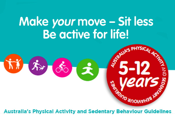 Physical Activity Guidelines Children 5 12 Yrs Qorf