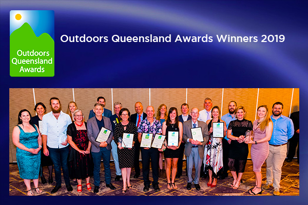 Outdoors Queensland award Winners 2019