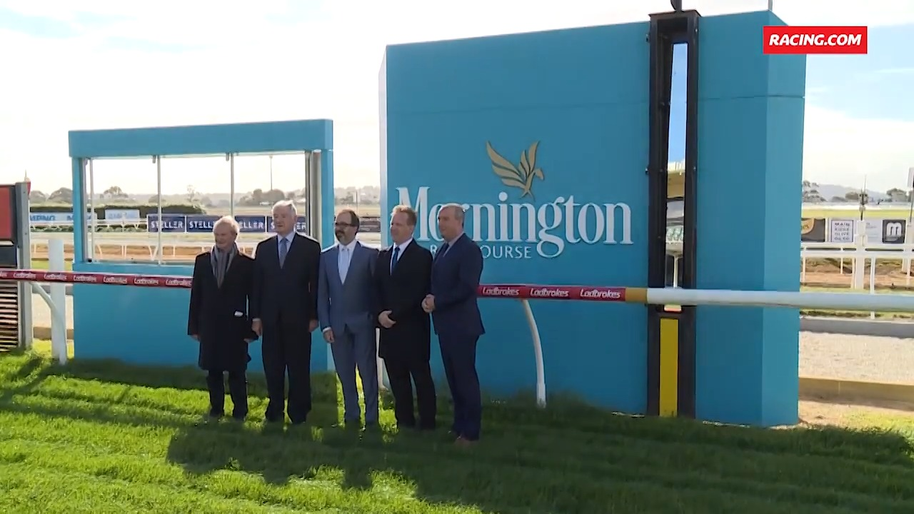 Mornington training track upgrade