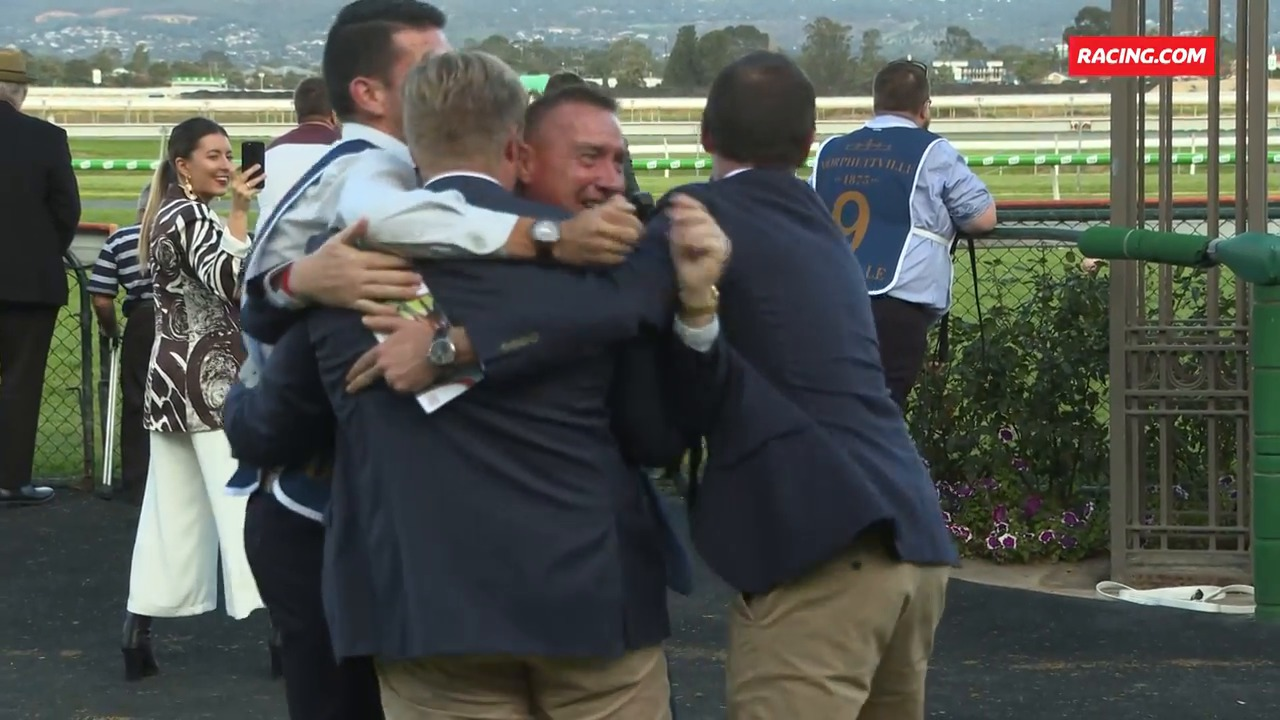 Goodwood Winners Celebrate