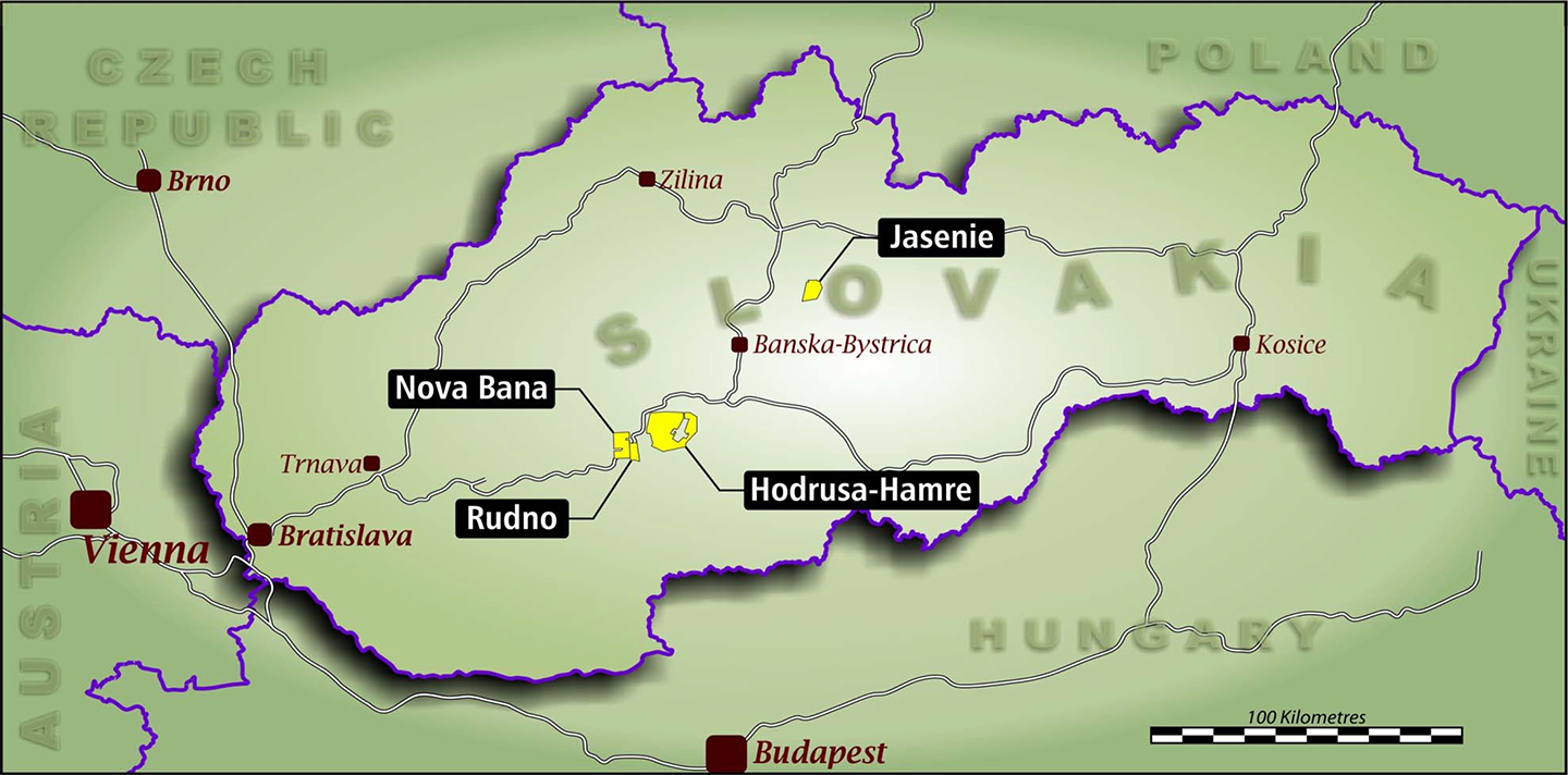 Location - Central Europe