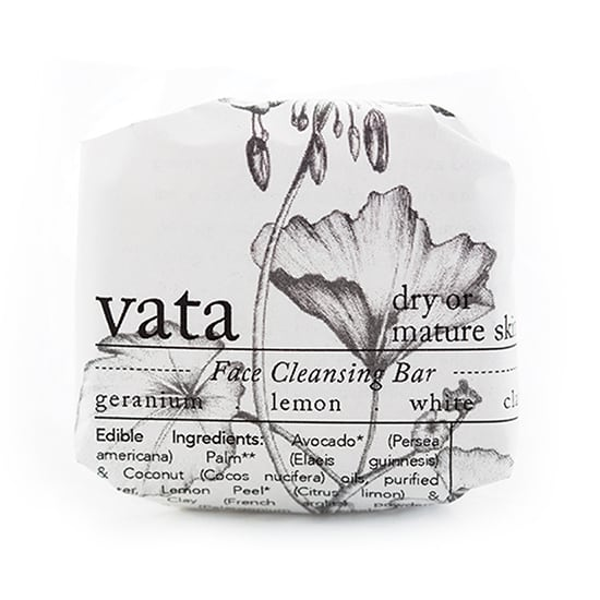 round vata cleansing bar wrapped
