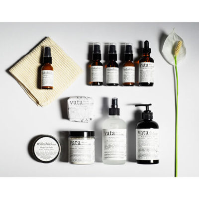 Vata Skincare Kit Laying Flat