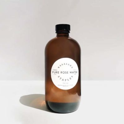 amber bottle premium organic rose water 475ml
