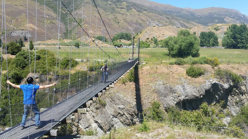 Another great option is riding from Arrowtown to Queenstown. Arrowtown is 300metreshigher than Queenstown, so the natural flow and style of the trail makes this the best way to ride